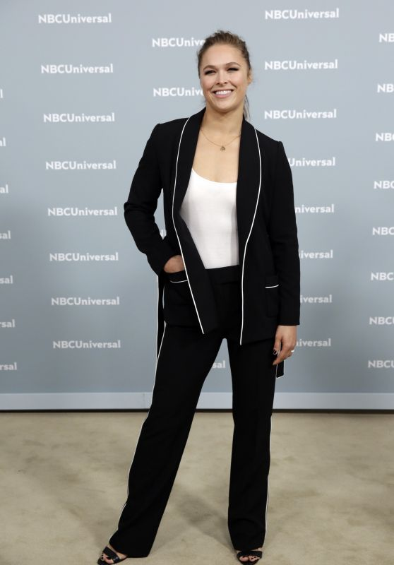 Ronda Rousey – 2018 NBCUniversal Upfront in NYC