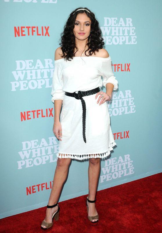 """Ronni Hawk – """"Dear White People"""" TV Show Premiere in LA"""