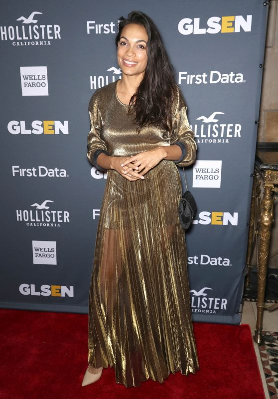 Rosario Dawson – 2018 GLSEN Respect Awards in New York