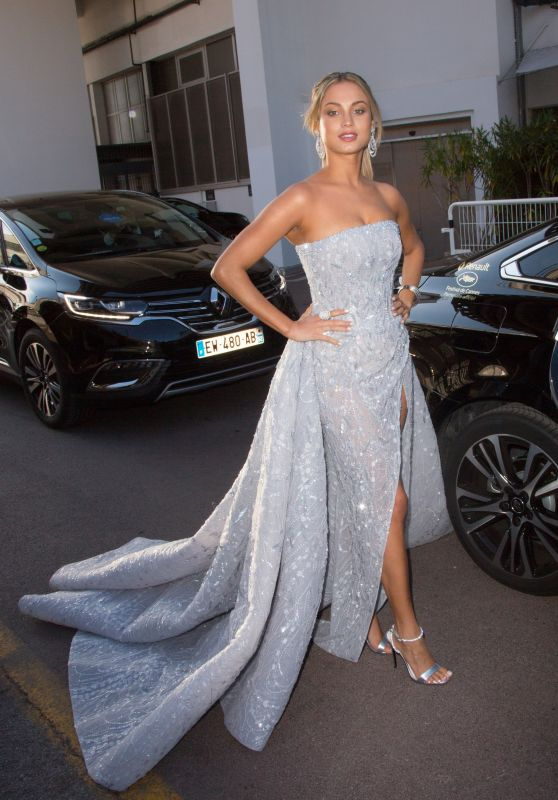 Rose Bertram at Martinez Hotel in Cannes 05/17/2018