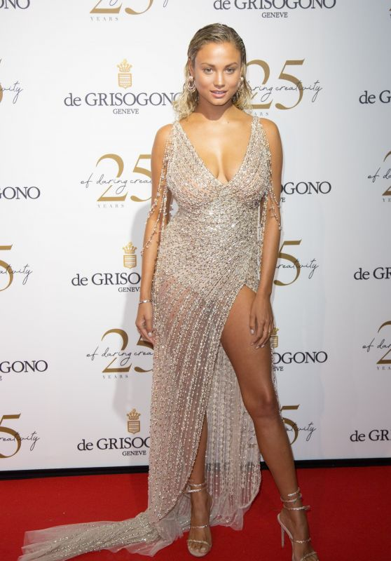 Rose Bertram – Grisogono Party in Antibes 05/15/2018