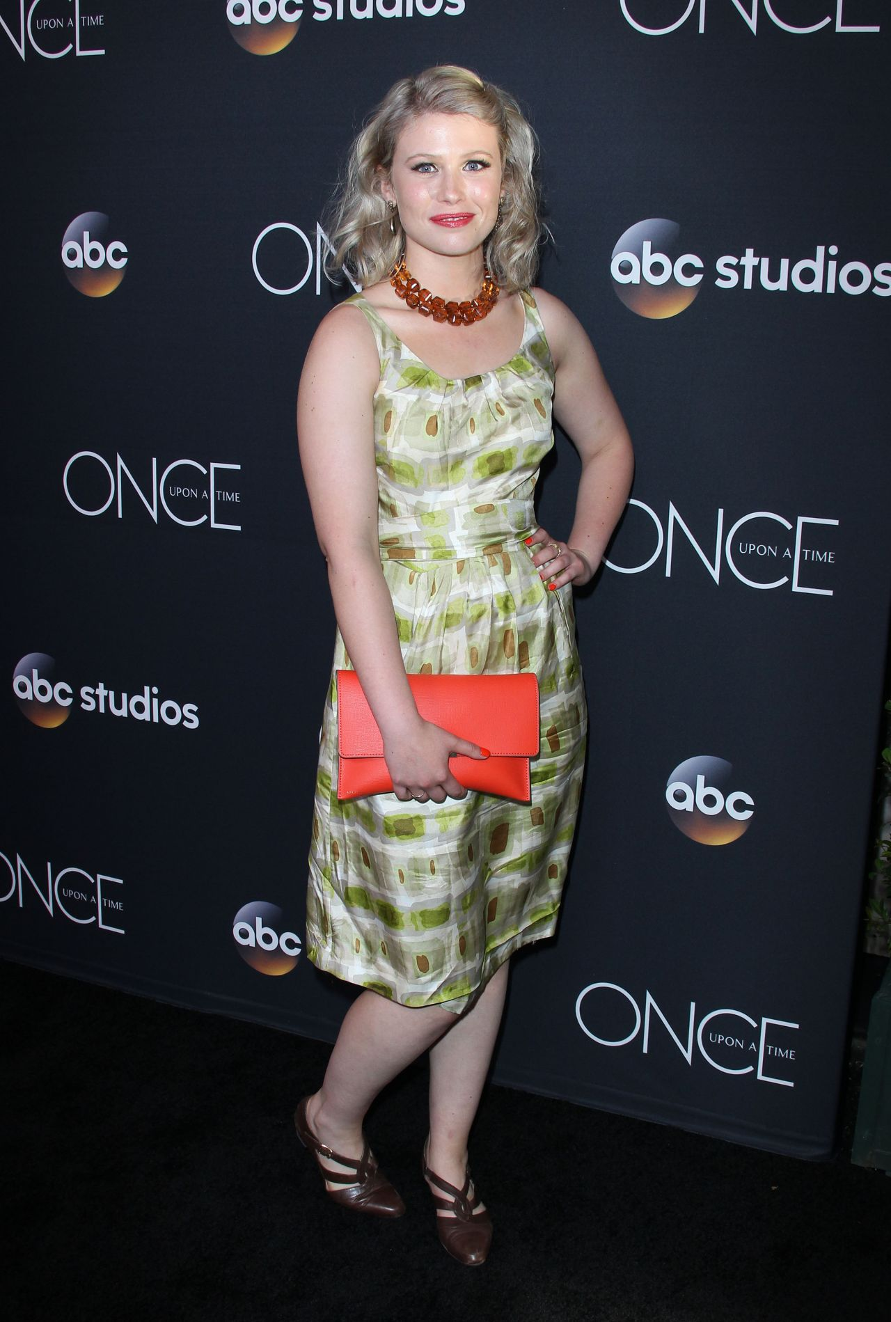 Rose Reynolds Once Upon A Time Finale Screening In La
