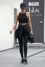 Rosie Huntington-Whiteley - Leaves the Body By Simone Gym in West Hollywood 05/24/2018