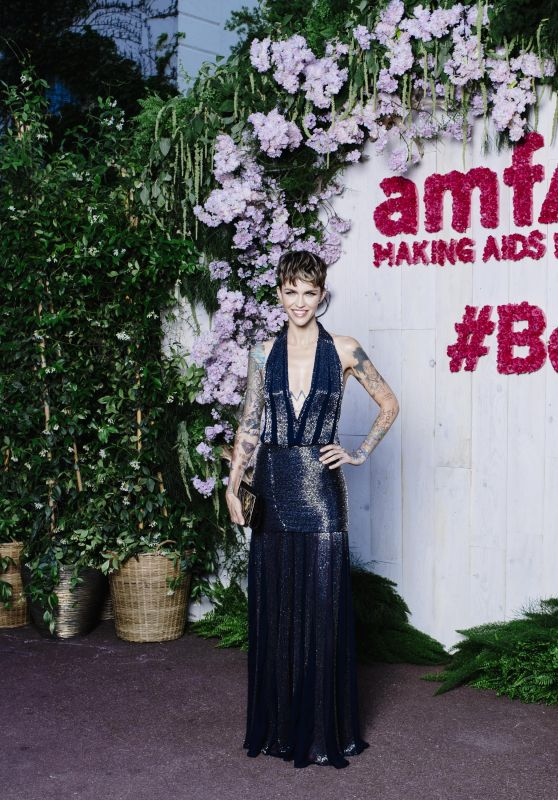 Ruby Rose – AmfAR's 25th Cinema Against AIDS Gala in Cannes