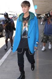 Ruby Rose - LAX International Airport in LA 05/08/2018