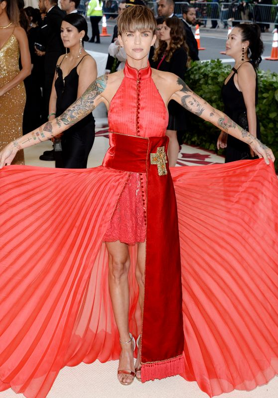 Ruby Rose – MET Gala 2018