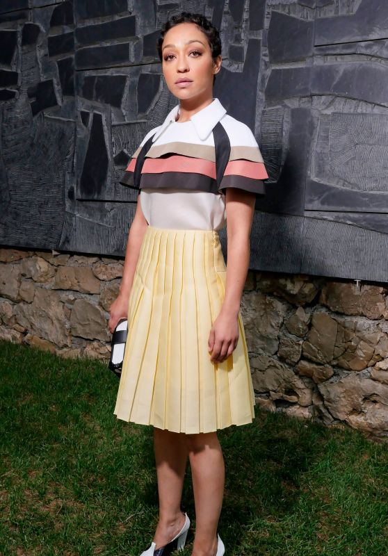 Ruth Negga – Louis Vuitton 2019 Cruise Collection in Saint-Paul-De-Vence