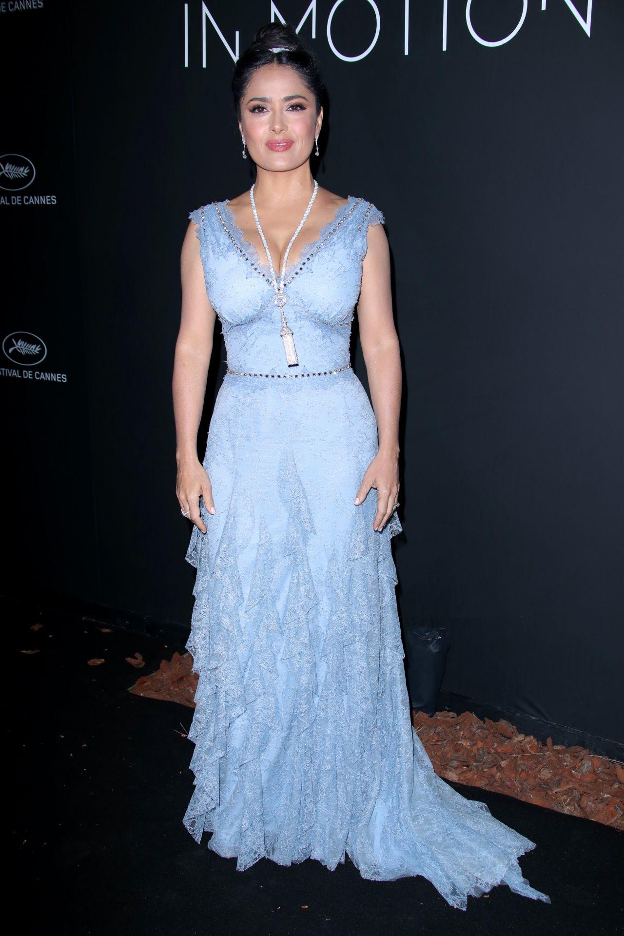 Salma Hayek Kering Women In Motion Awards Dinner At