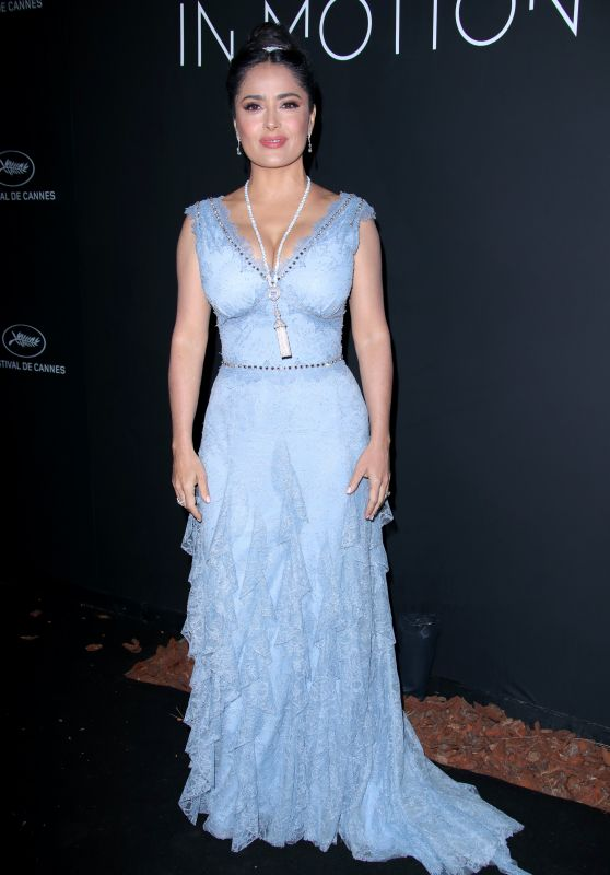 Salma Hayek – Kering Women in Motion Awards Dinner at Cannes Film Festival 2018