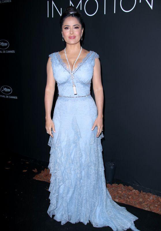 Salma Hayek – Kering Women in Motion Awards Dinner at Cannes Film Festival 2018