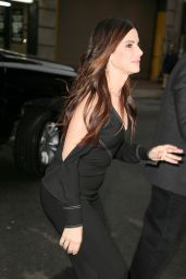 """Sandra Bullock - Promoting """"Ocean"""
