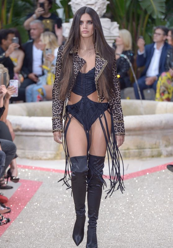 Sara Sampaio - Philipp Plein Resort Show in Cannes 05/16/2018