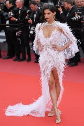 """Sara Sampaio – """"Solo: A Star Wars Story"""" Red Carpet in Cannes"""