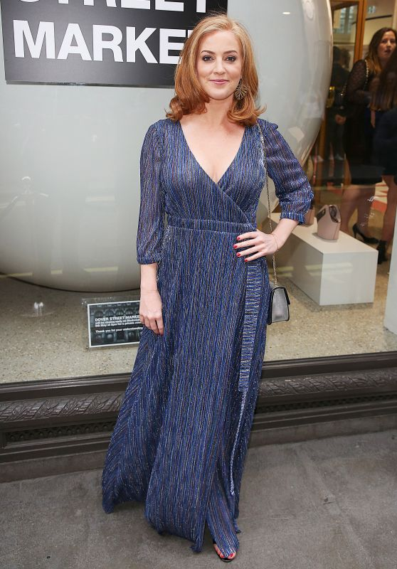 Sarah-Jane Mee – Hello! Magazine x Dover Street Market Party in London 05/09/2018