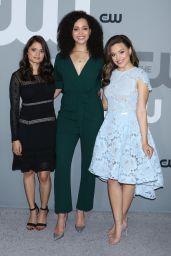 Sarah Jeffery – CW Network Upfront Presentation in NYC 05/17/2018