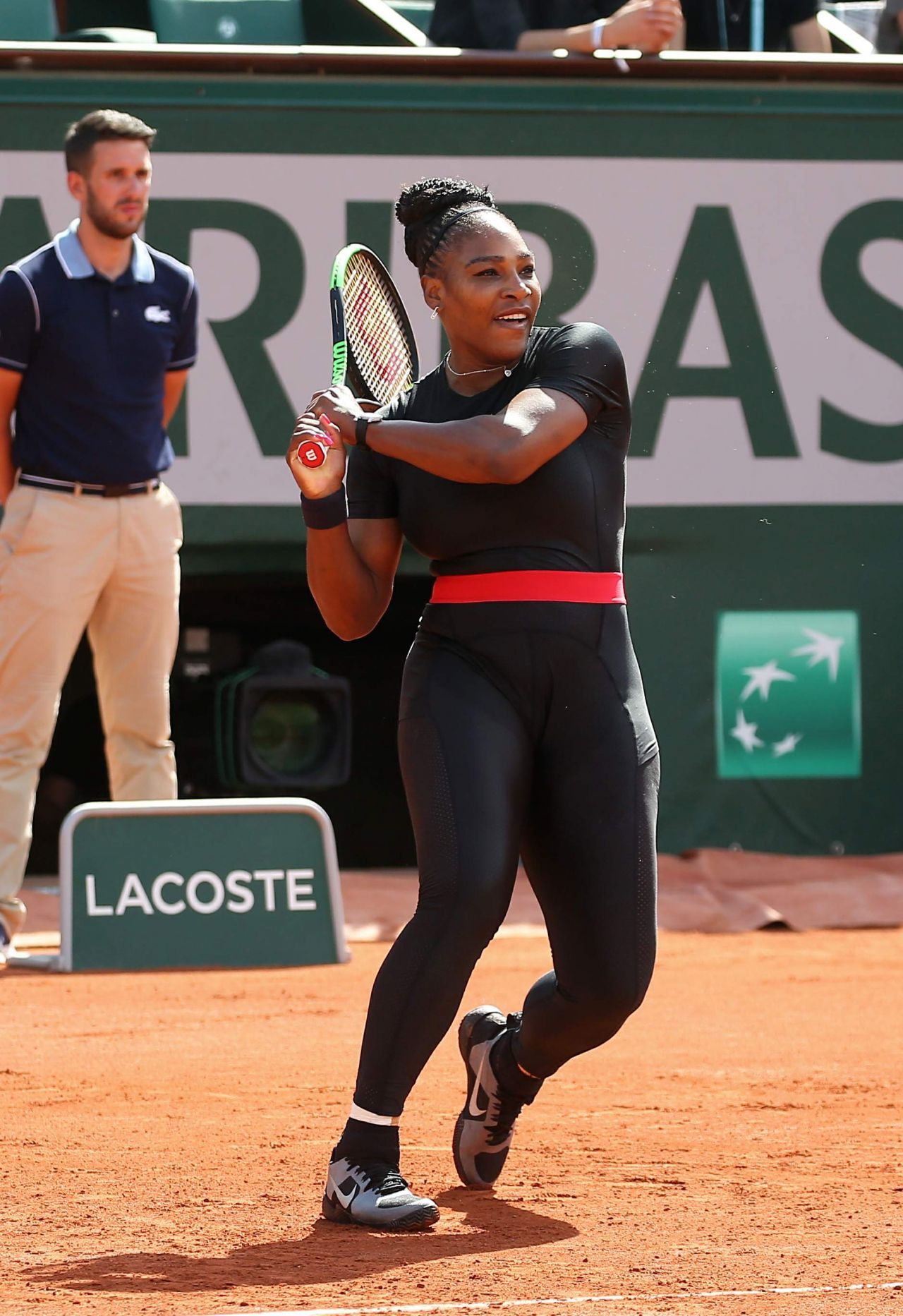 Serena Williams French Open Tennis Tournament In Paris