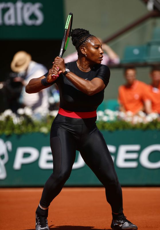 Serena Williams – French Open Tennis Tournament in Paris 05/29/2018