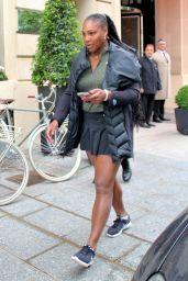 Serena Williams - Leaves Her Hotel in Paris 05/29/2018