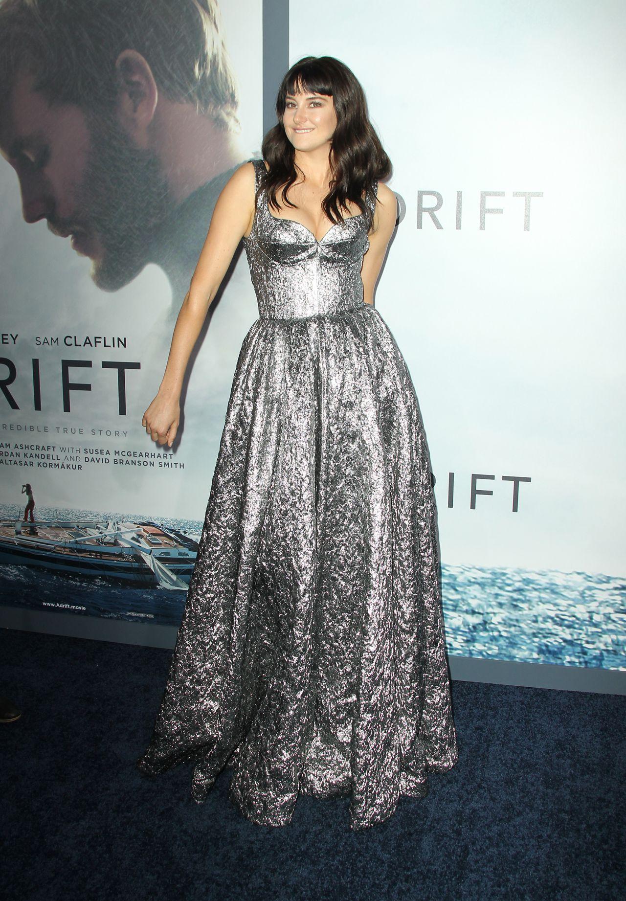 Shailene Woodley Adrift Premiere In Los Angeles