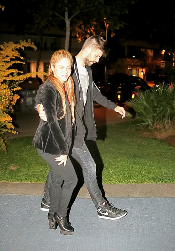 Shakira and Gerard Piqué - Our to dinner in Barcelona 05/06/2018
