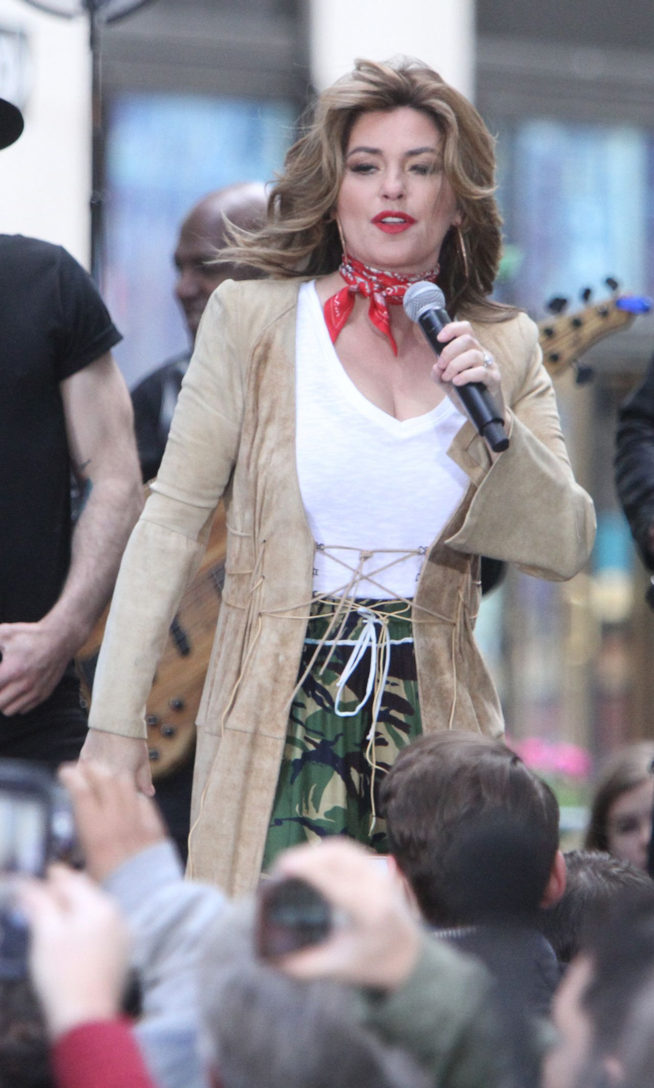 Shania Twain Performs On Nbc S Today Show Concert Series