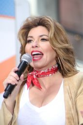 Shania Twain - Performs on NBC
