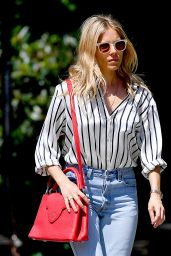 Sienna Miller in Casual Outfit - New York 05/23/2018