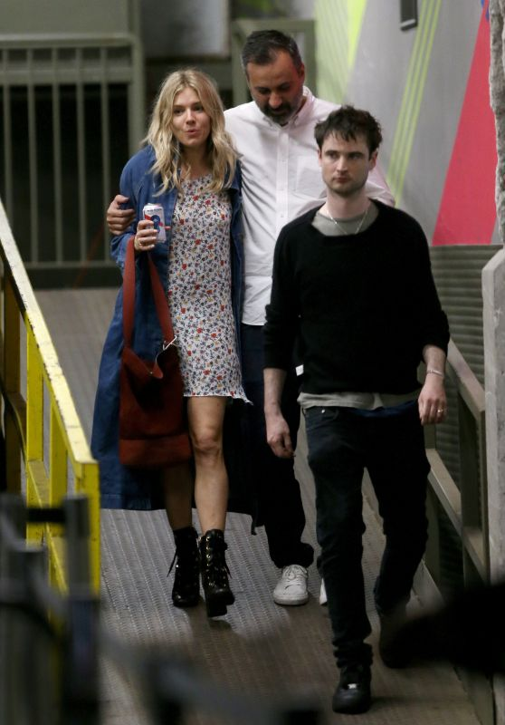 Sienna Miller out With Tom Sturridge in NYC 05/05/2018