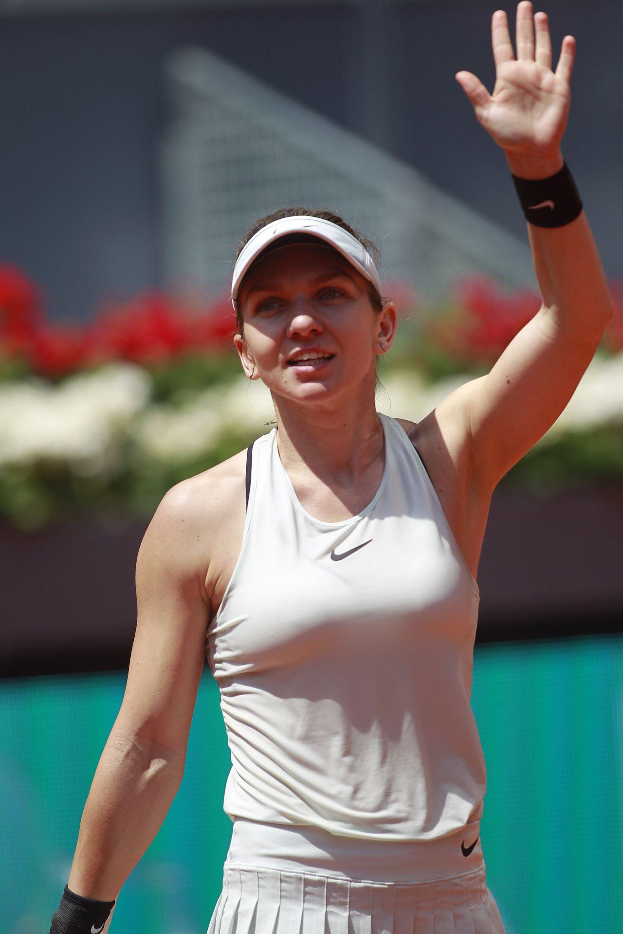 Simona Halep Mutua Madrid Open 05 09 2018