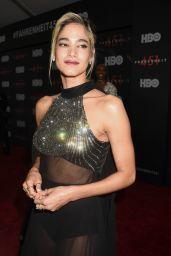 """Sofia Boutella - """"Fahrenheit 451"""" Premiere in NYC"""