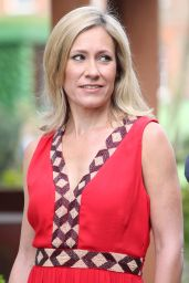 Sophie Raworth – Chelsea Flower Show in London 05/21/2018