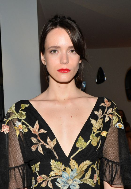 Stacy Martin at the Marriott Hotel for the Dior Dinner in Cannes
