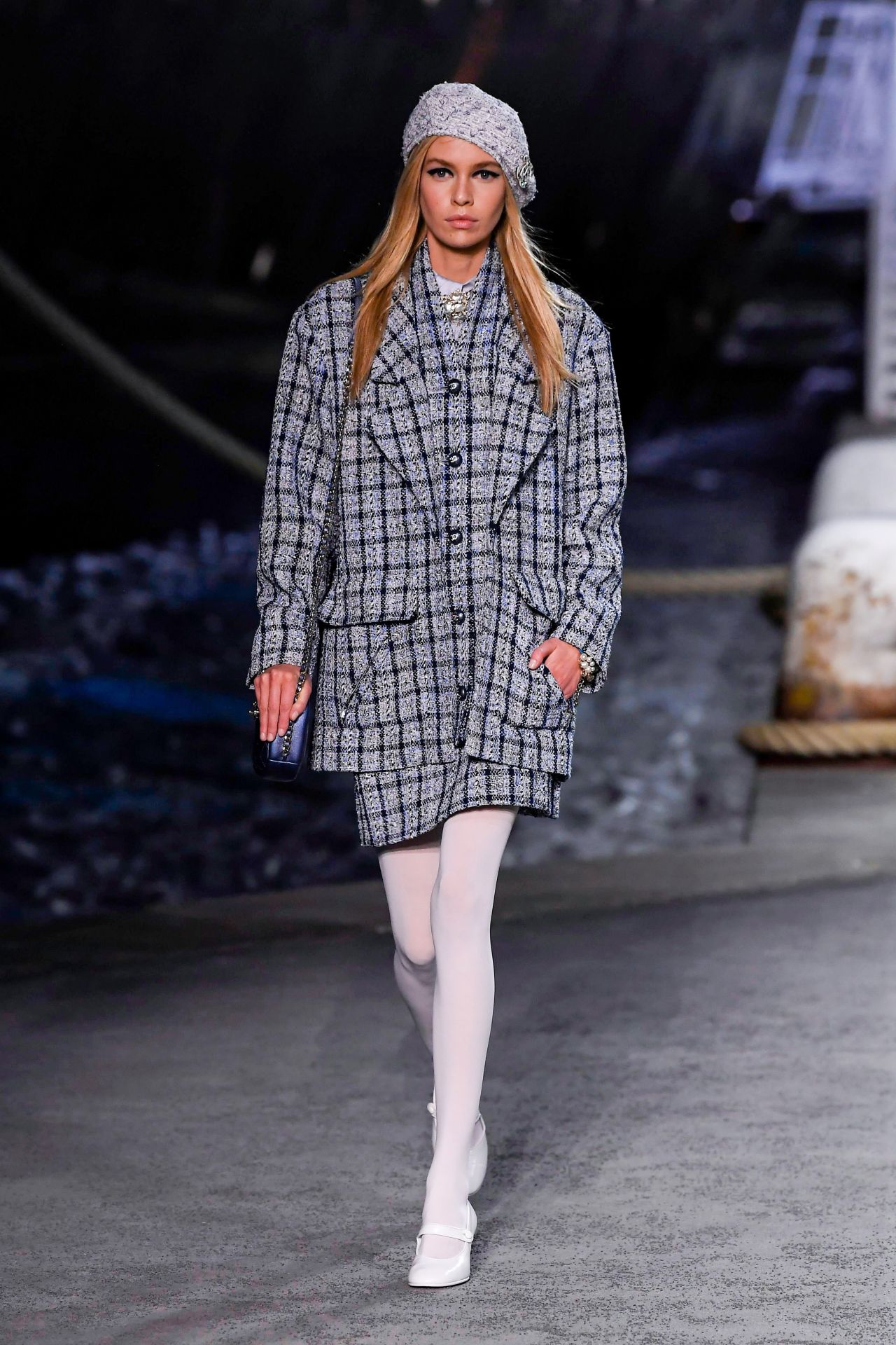 Stella Maxwell - Chanel Cruise Collection Runway in Paris ...