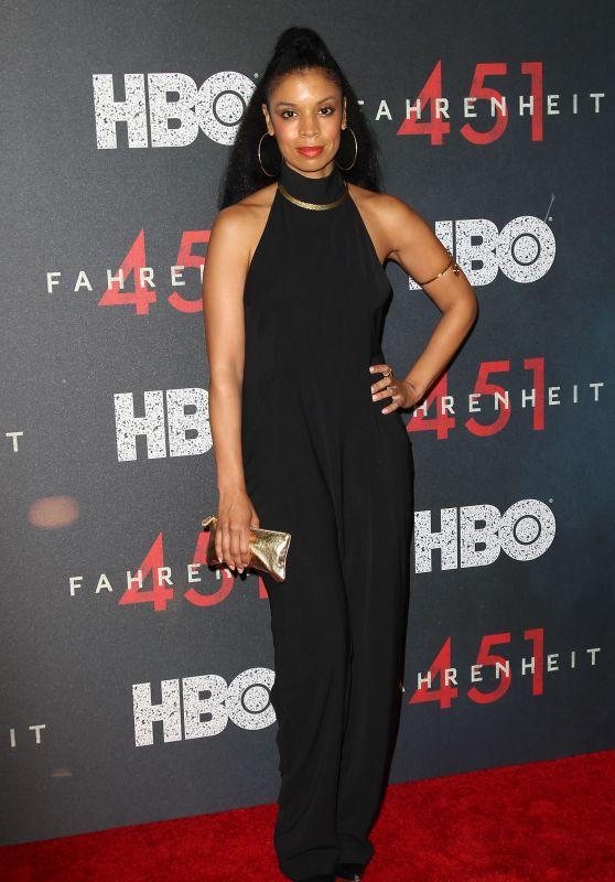"Susan Kelechi Watson – ""Fahrenheit 451"" Premiere in NYC"