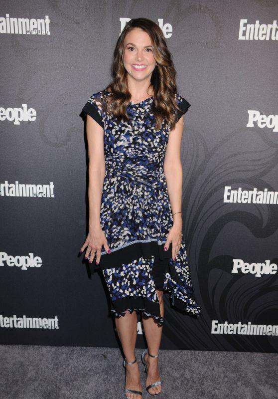 Sutton Foster – 2018 EW and People Upfronts Party in New York