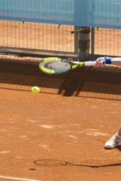 Svetlana Kuznetsova – Mutua Madrid Open Training Session in Madrid 05/04/2018