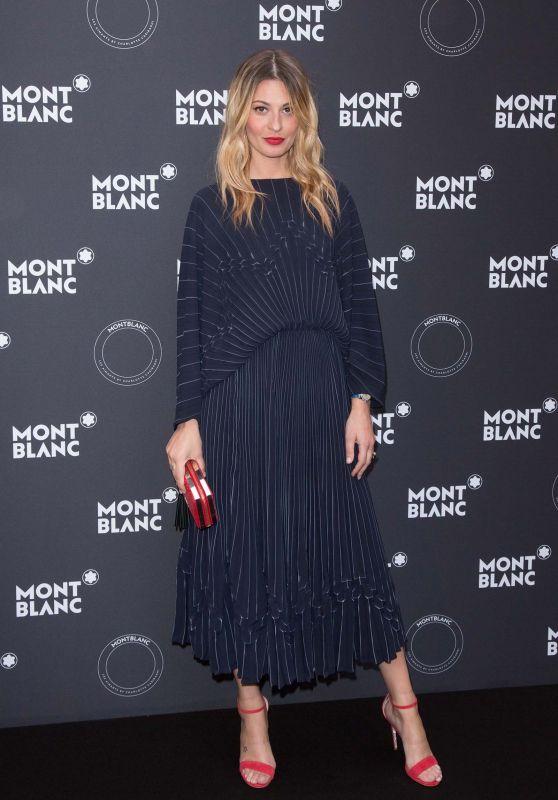Sveva Alviti – Montblanc Dinner in Cannes 05/16/2018