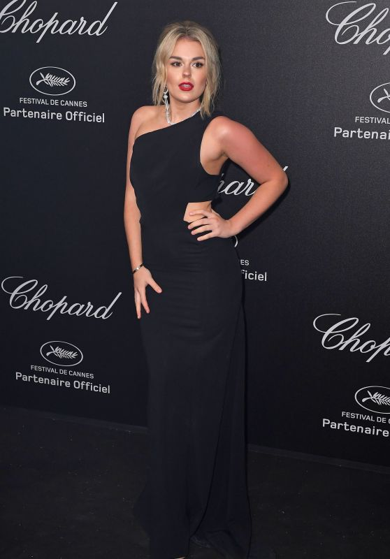 Tallia Storm – Secret Chopard Party in Cannes 05/11/2018