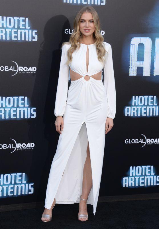"""Tanya Mityushina – """"Hotel Artemis"""" Premiere in Westwood"""