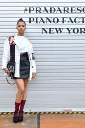 Taylor Russell – Prada Resort : 2019 Show in NYC 05/04/2018