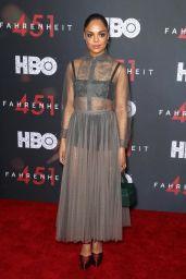 "Tessa Thompson – ""Fahrenheit 451"" Premiere in NYC"