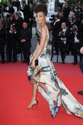 "Thandie Newton – ""Solo: A Star Wars Story"" Red Carpet in Cannes"