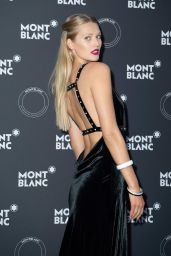 Toni Garrn – Montblanc Dinner in Cannes 05/16/2018