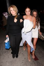 Tulisa Contostavlos - Leaving The Abbey in West Hollywood 05/26/2018