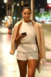 Tulisa Contostavlos - Night Out in Hollywood 05/21/2018