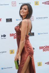 "Tyla Carr – ""Bromley Boys"" World Premiere in London"
