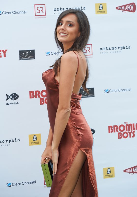 """Tyla Carr – """"Bromley Boys"""" World Premiere in London"""