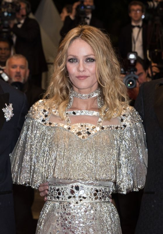 "Vanessa Paradis - ""Knife + Heart"" Red Carpet in Cannes"