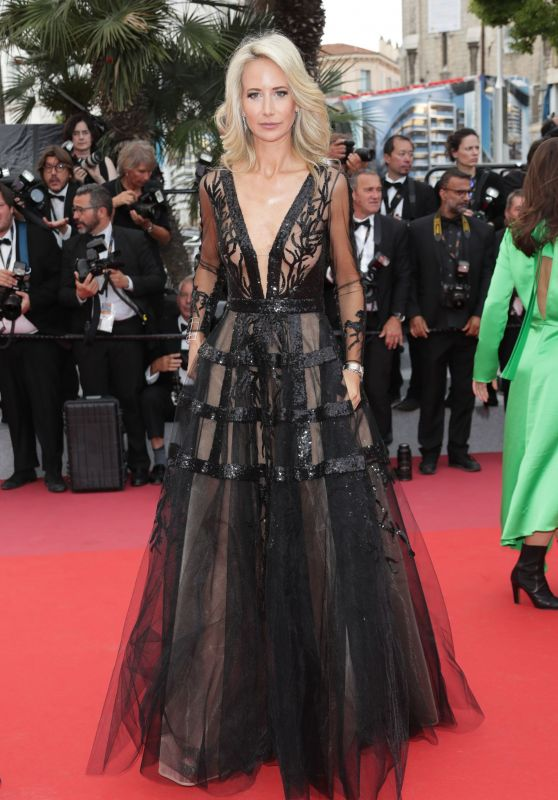 """Victoria Hervey - """"Wild Pear Tree"""" Red Carpet in Cannes"""
