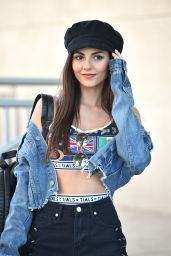 Victoria Justice Leggy in Shorts - Out in Los Angeles, May 2018